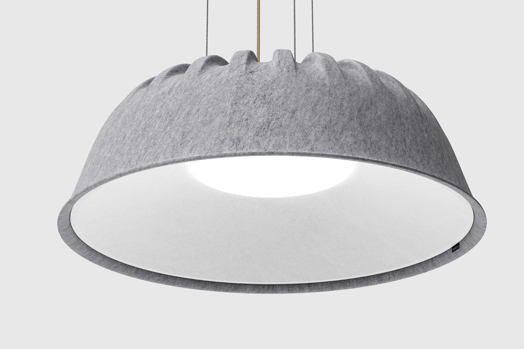 De Vorm Fost PET Felt Acoustic Lamp 00010