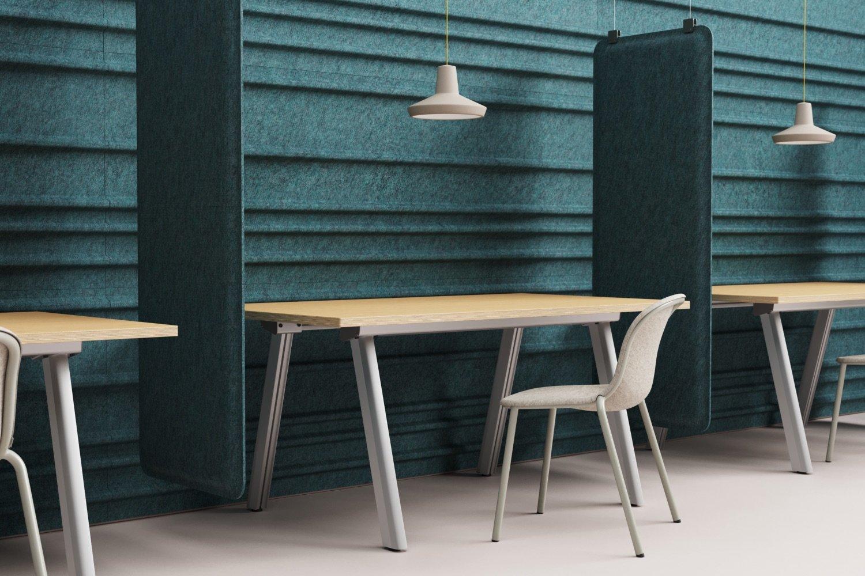 De Vorm Mute Fraction PET Felt Acoustic Panel desks-desk_alu