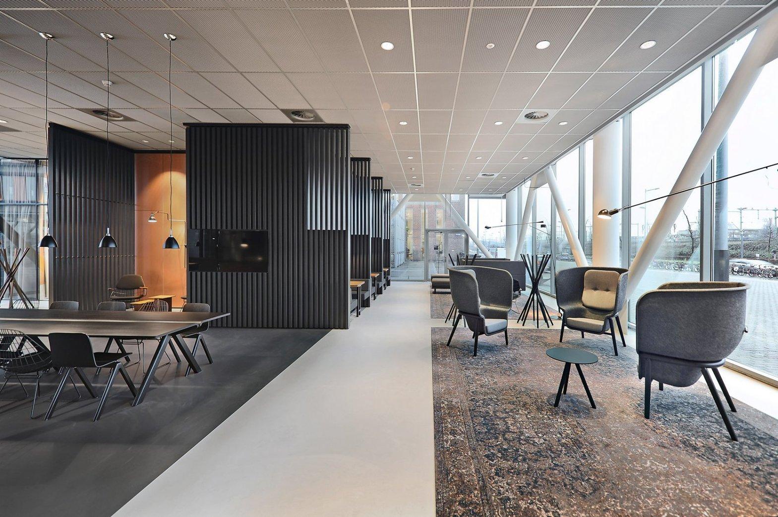 De Vorm on Office Design - Huys Europa Pod Privacy PET Felt Chair