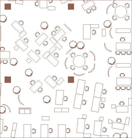 De-vorm-for-office-Example-of-Burolandschaft-office-plan