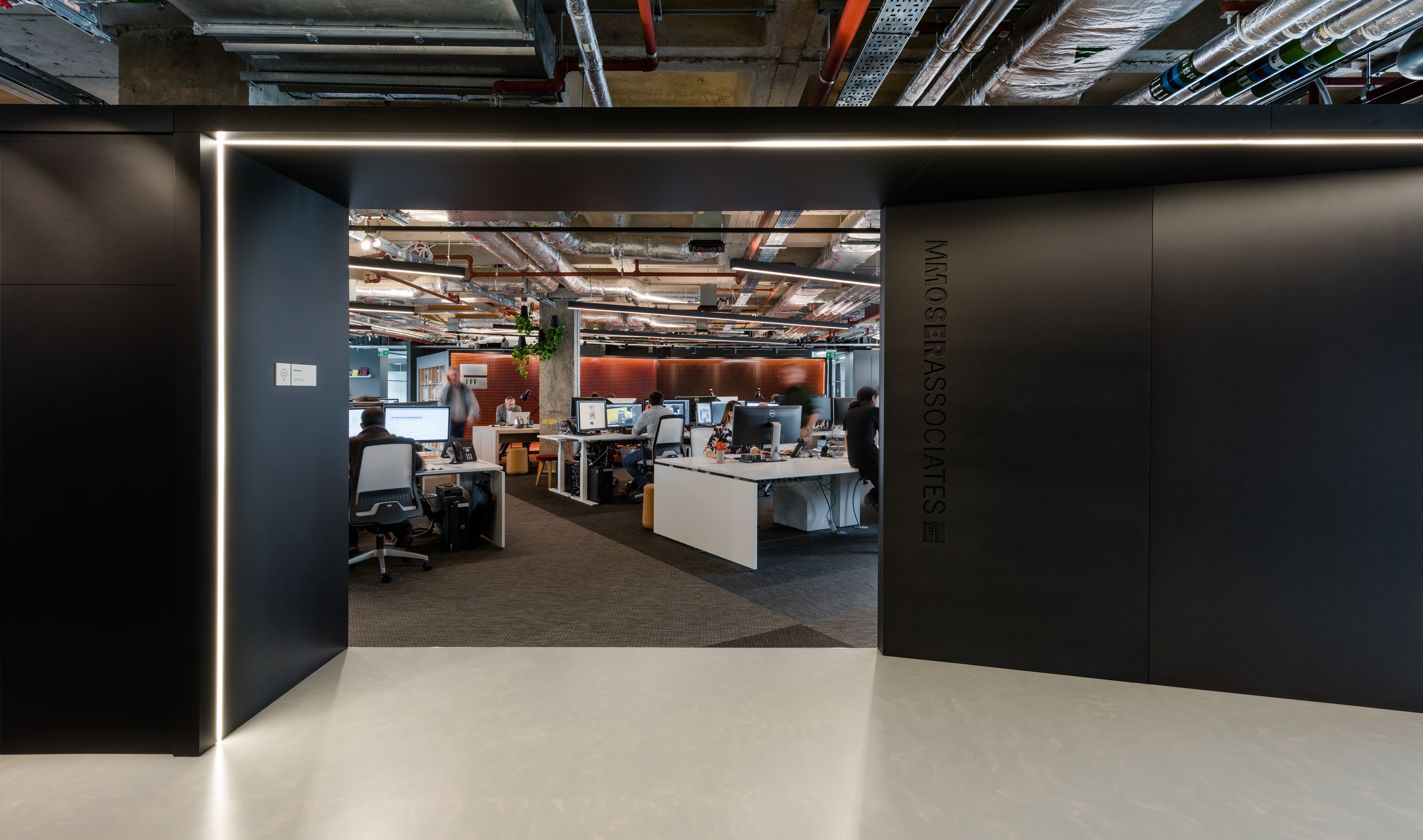 M Moser London office
