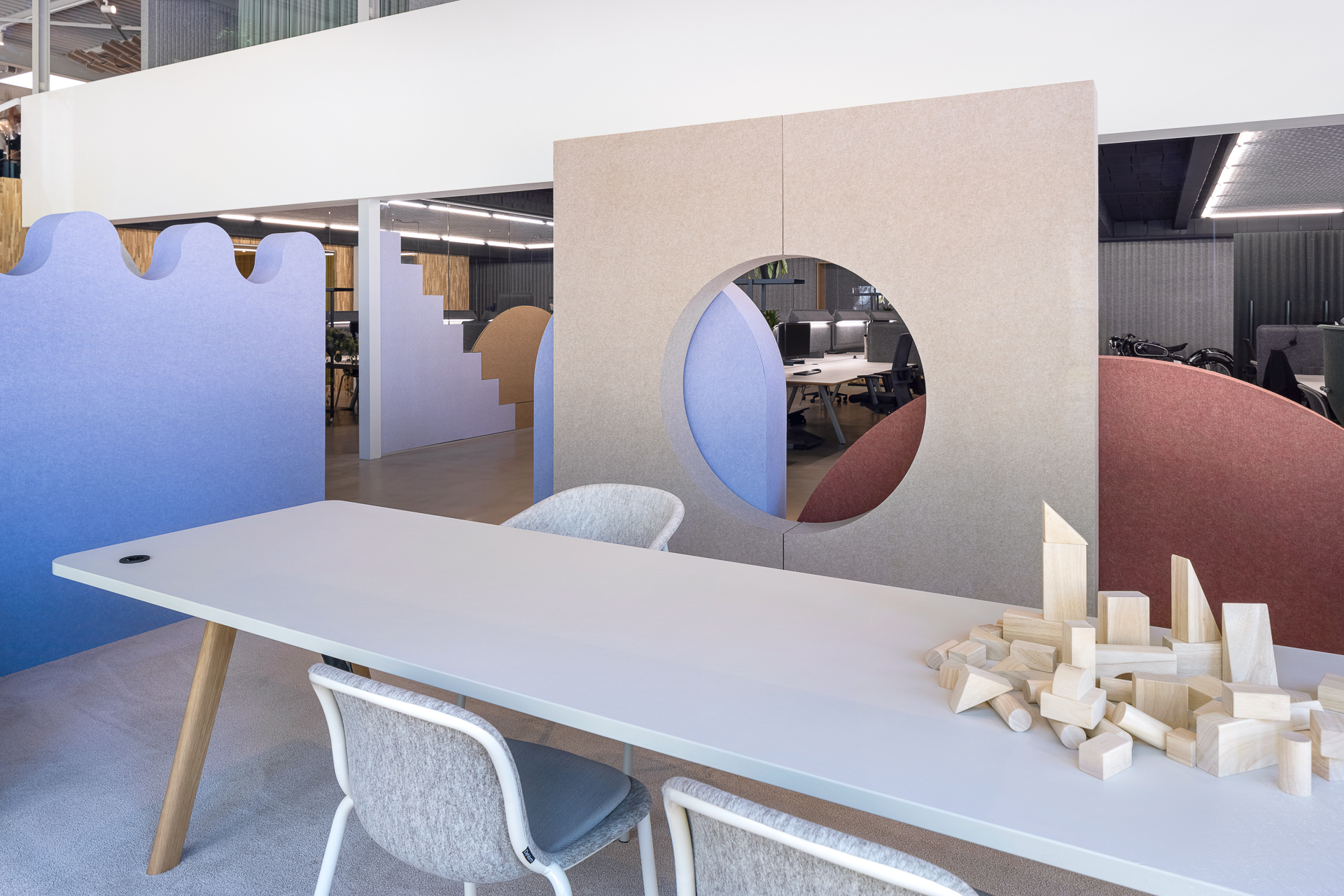 De Vorm Showroom and Offices - PET Felt products 3