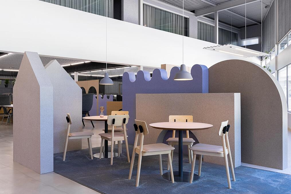 De Vorm Showroom and Offices - PET Felt products 6