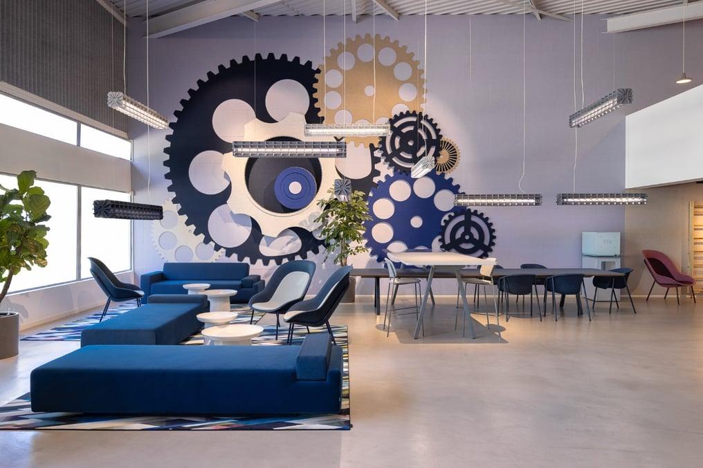 De Vorm Showroom and Offices - PET Felt products 7